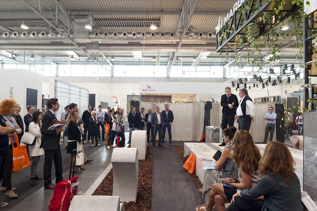 Documentazione conferenza stampa per la presentazione dello stand installazione Margraf durante la fiera Marmomacc Verona 2014 a cura di Metrogramma.Documentazione conferenza stampa per la presentazione dello stand installazione Margraf durante la fiera Marmomacc Verona 2014 a cura di Metrogramma.