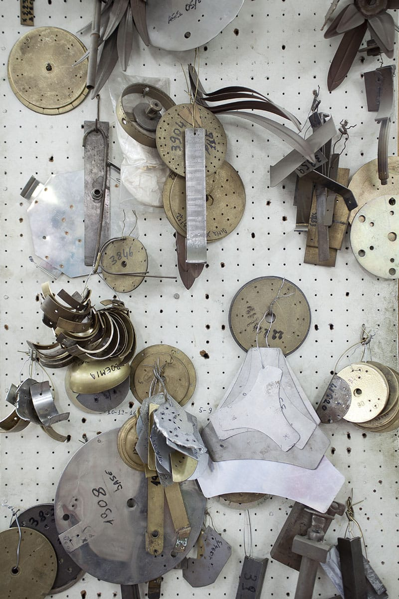 Documentazione showroom e area di produzione dell'azienda G. Moscatelli S.p.a.
