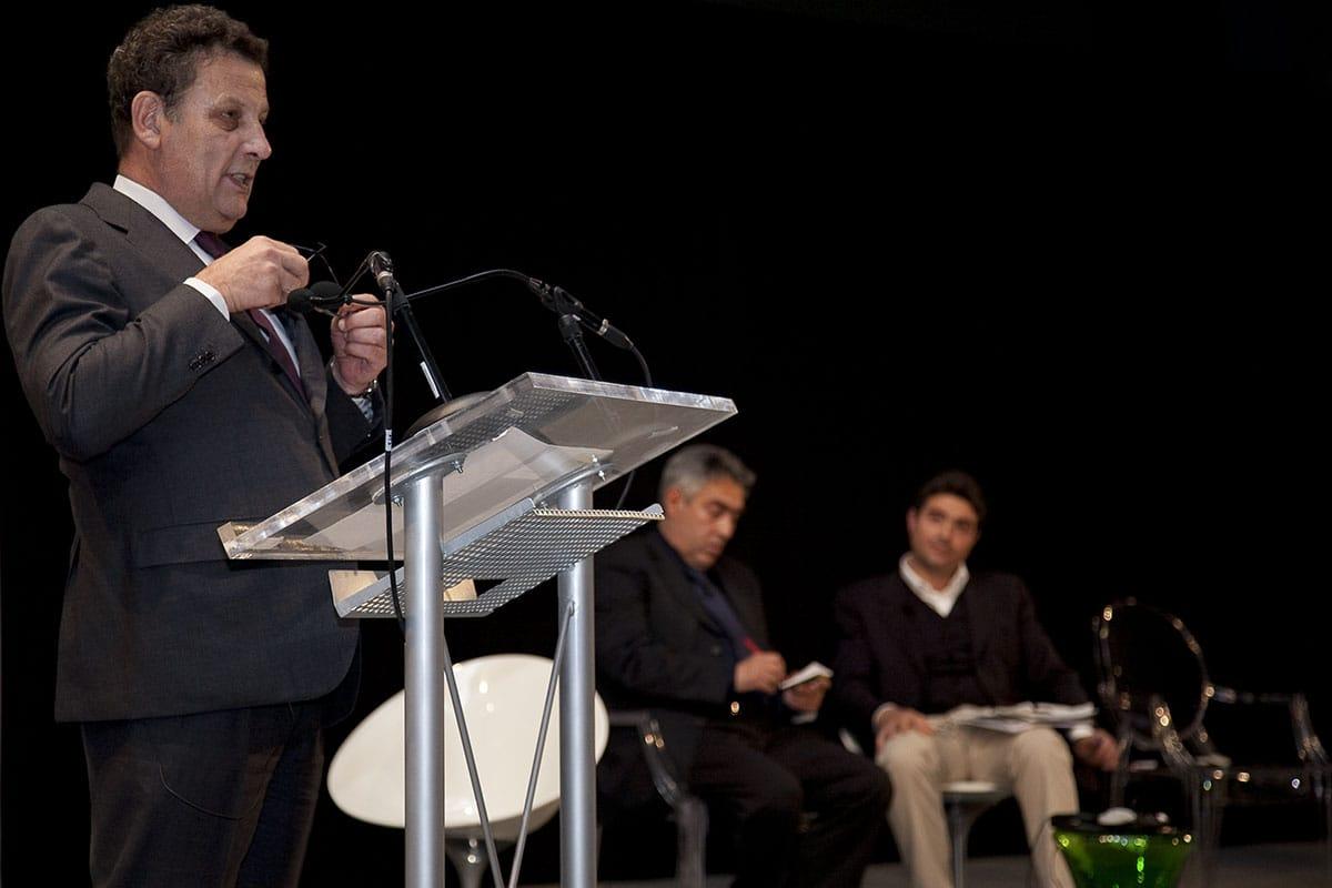 Documentazione premiazione concorso Casalgrande Padana Grand Prix 1960-2010 durante il Fuorisalone 2010, ospite d'onore Kengo Kuma.