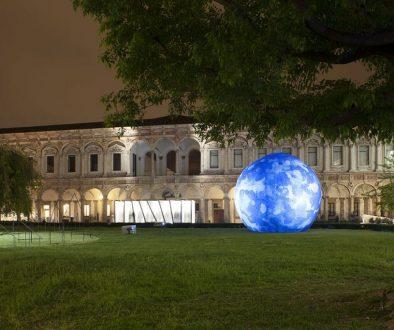 Documentazione installazione Mutated Panels di Richard Meier & Partners Architects per Italcementi al Fuorisalone 2011, Università degli Studi di Milano.